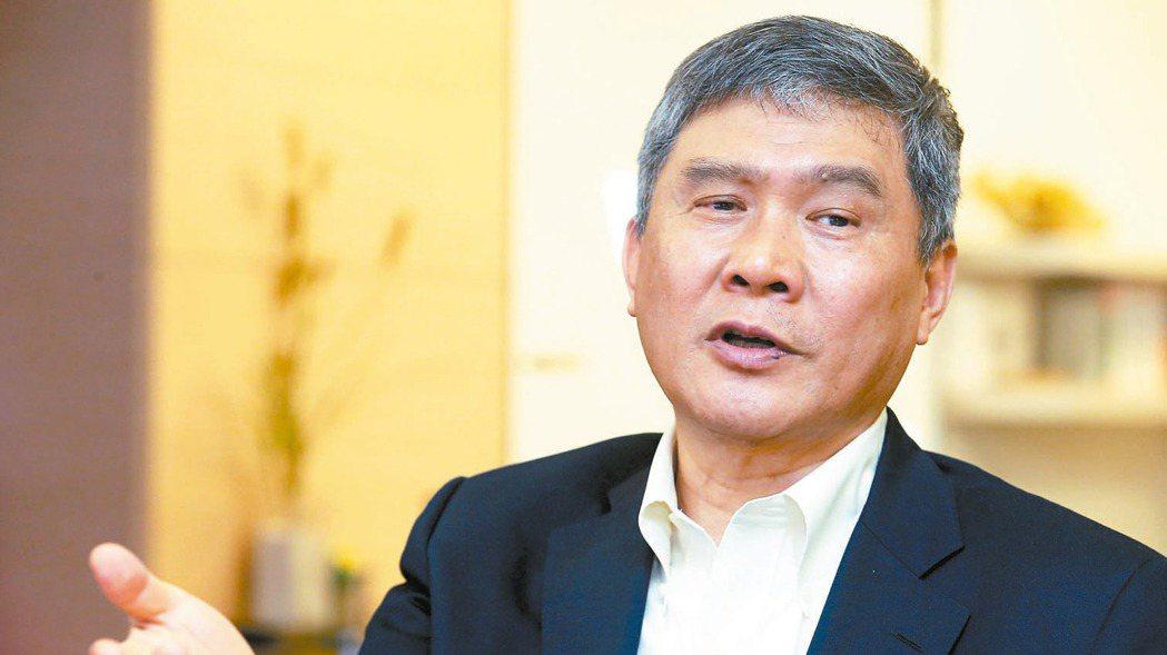 台達電董事長海英俊。 報系資料照