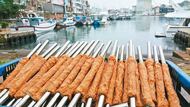 吉古拉已成為正濱漁港的風景之一。