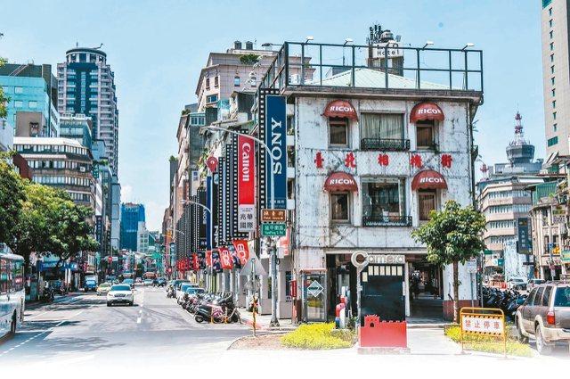北門周邊的相機商圈,擁有全台灣最密集的照相與攝影器材店家。