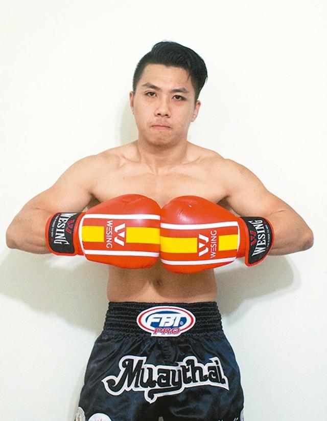 黃嵩森去年拿下東亞泰拳錦標賽銀牌。