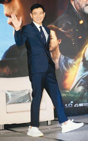港星劉德華來台為新片《俠盜聯盟》宣傳造勢,談及半年來休養的心路歷程。