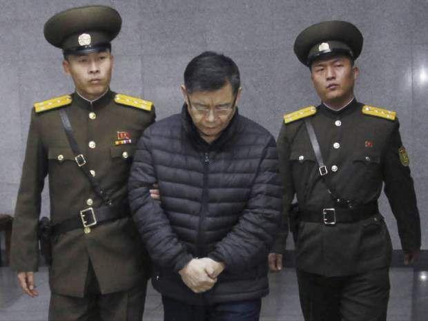 被北韓囚禁2年的加拿大籍韓裔牧師林鉉洙,確定獲得釋放。聯合報系資料照