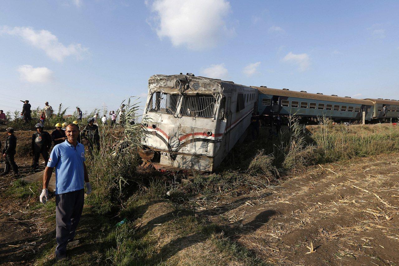 埃及濱海城市亞力山卓(Alexandria)11日發生火車相撞事故,造成至少36...