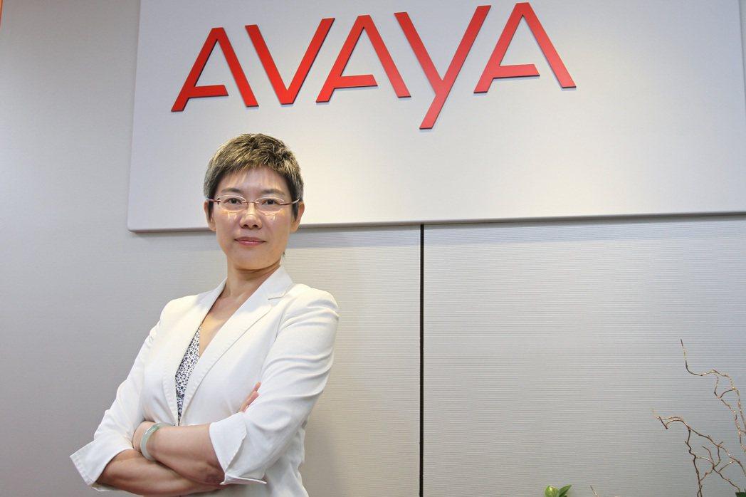 Avaya台灣分公司總經理張嵐夢表示,該公司的服務已可深化至通訊系統底層,更採開...