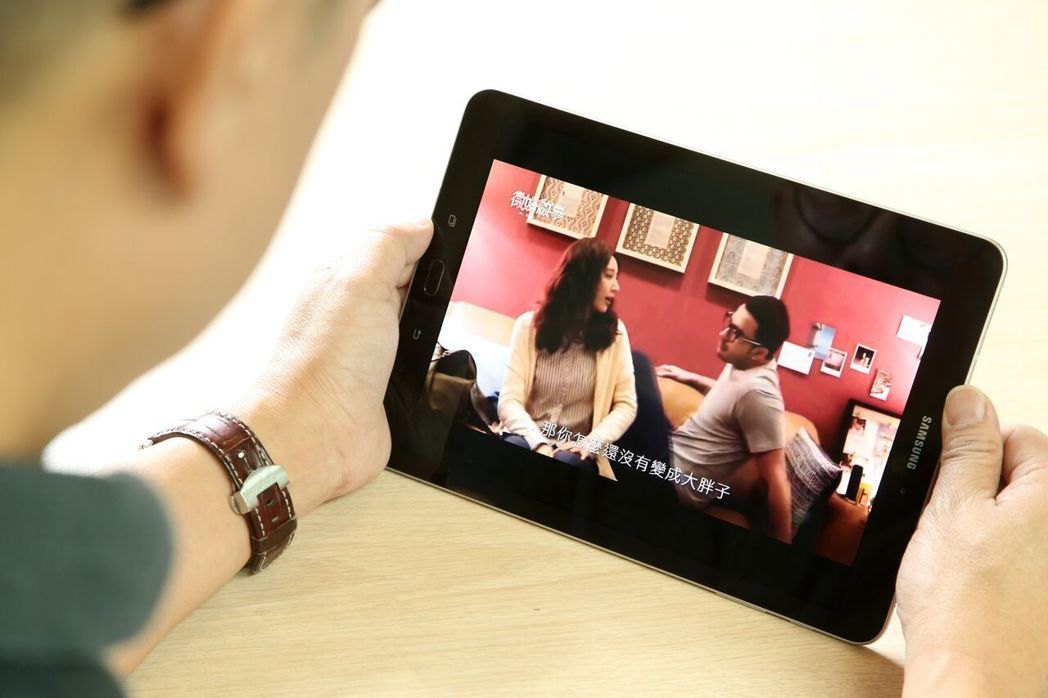 Tab S3的Super AMOLED螢幕,提供絕佳的視覺饗宴。陳立凱/攝影