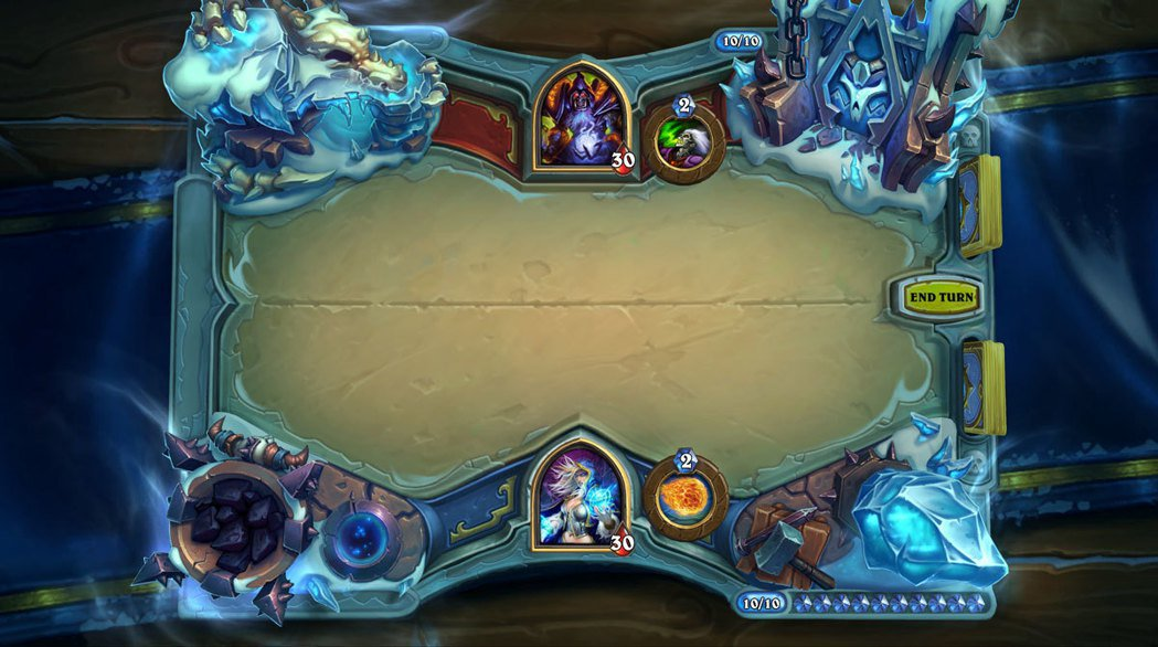《冰封王座》主題牌桌