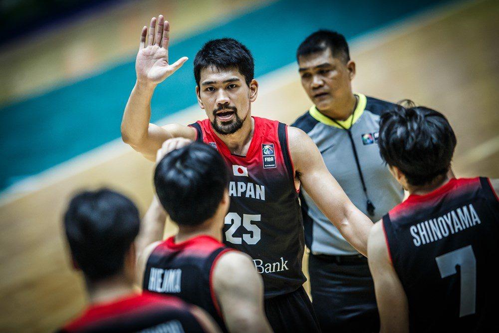 2017亞洲盃日本慘電中華隊38分,差距大到令人難以想像。 截圖自FIBA官網