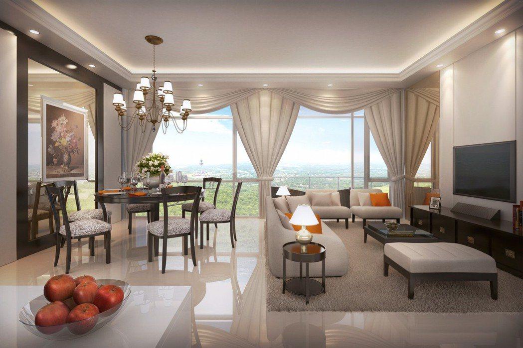 「東方產業」在台灣獨家代理Paradiso Nuova豪華住宅。
