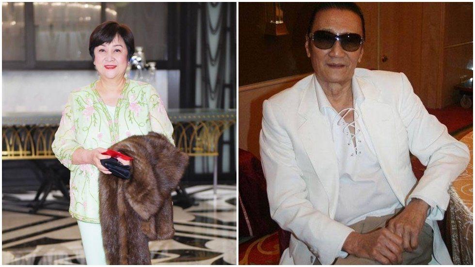 謝賢(右)曾與甄珍(左)有過一段婚姻。圖/摘自臉書、微博