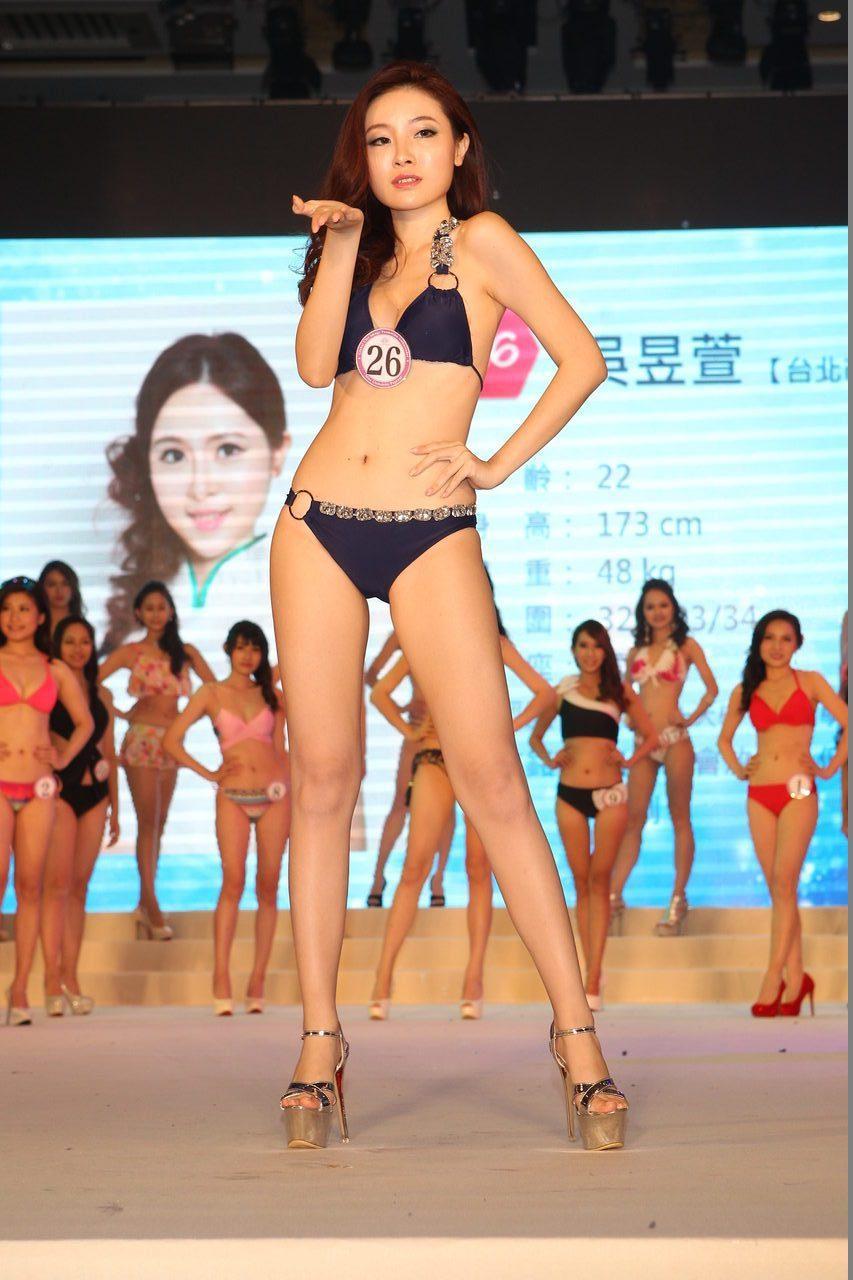 冠軍26號吳昱萱勇奪后冠。記者王騰毅/攝影