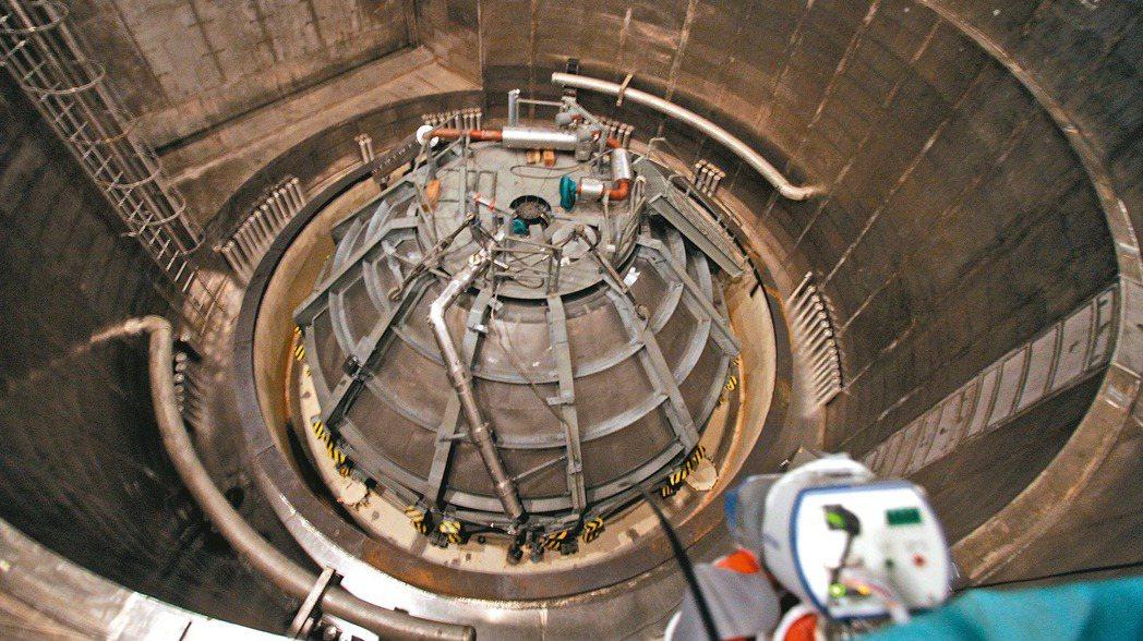 政府已確定核四不啟封、不運轉,並已規畫核四廠的轉型。圖為核四廠核子反應爐。 報系...