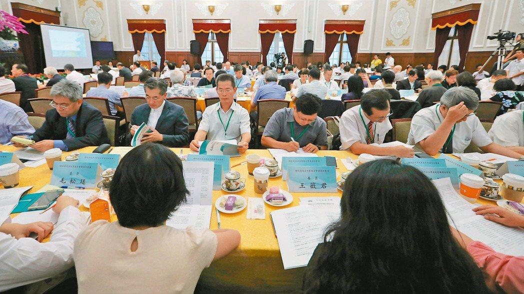 總統府司改國是會議總結會議上午登場,但司改能不能成功,還要看立法院這一關。 圖/...