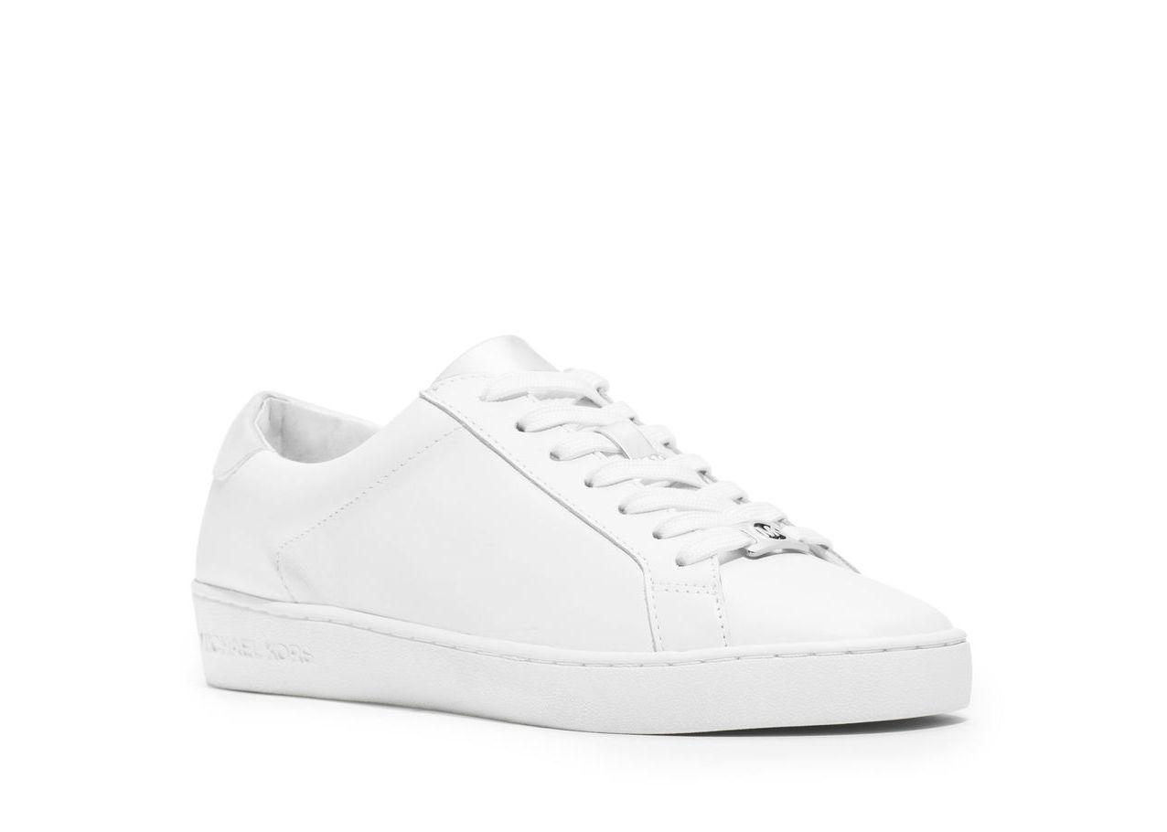 MICHAEL Michael Kors 白色綁帶休閒鞋,售價未定