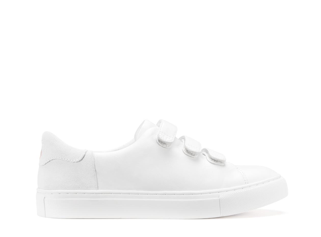 Tory Burch 白色魔鬼氈休閒鞋,NT$8990