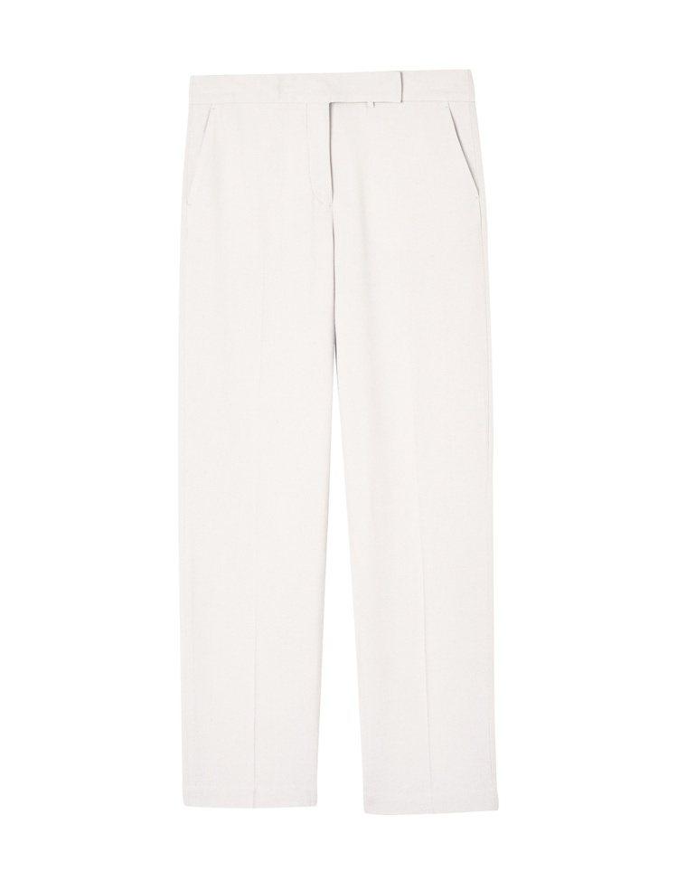 J.Lindeberg白色西裝長褲,售價8,980元。圖/J.Lindeberg...