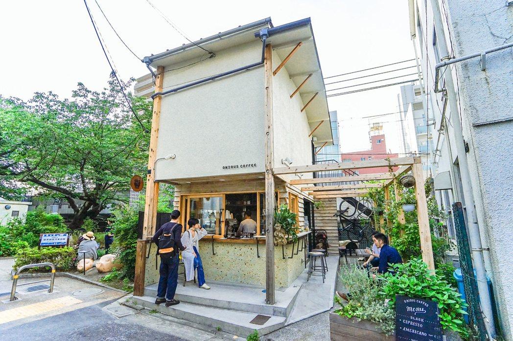 ONIBUS COFFEE NAKAMEGURO。圖/Chez提供