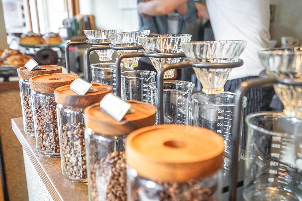 GLITCH COFFEE & ROASTERS。圖/Chez提供