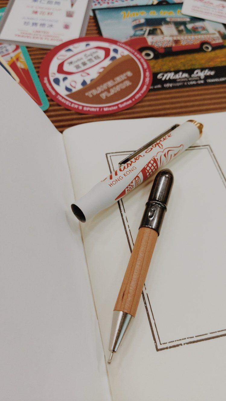 黃銅系列經典再現-原子筆富豪雪糕限定版,1180元。