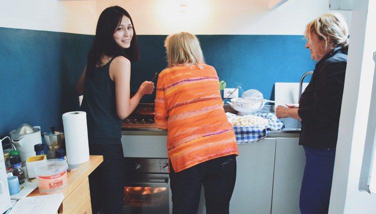 Yen離開電影圈,毅然決然飛往義大利學做菜。圖/劉宴瑜Yen提供