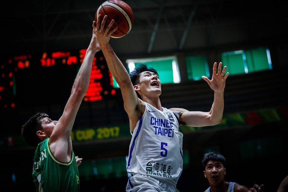 中華隊劉錚。圖/取自FIBA官網