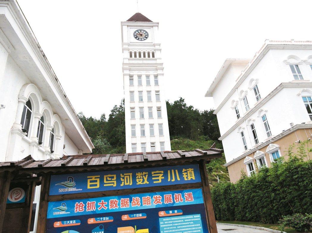 貴州是大陸發展大數據產業的戰略重鎮,黔南州的百鳥河數字小鎮則是大數據應用的技術研...