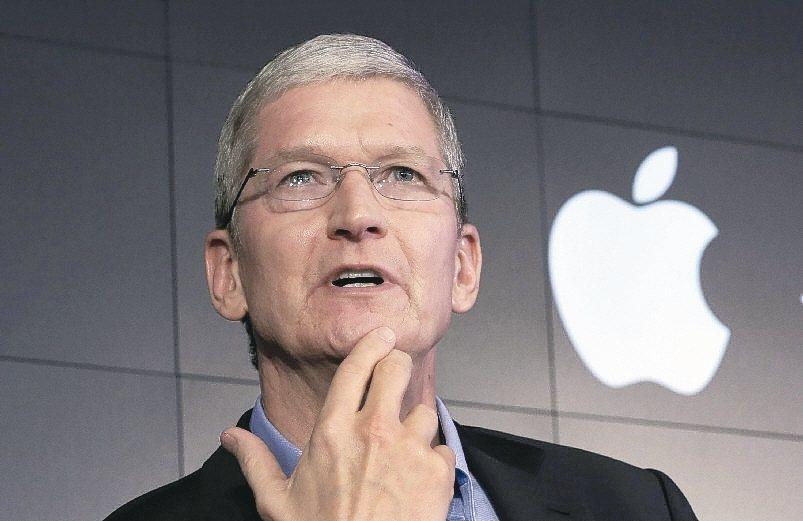 蘋果執行長庫克