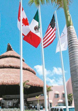 美國、加拿大及墨西哥將就重新議定或廢止北美自由貿易協定展開談判。 本報系資料庫