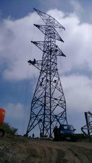 和平電廠電塔最新修復完工照片    圖片來源:經濟部 吳馥馨