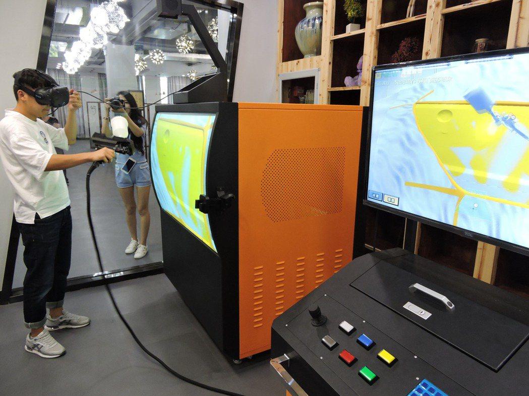 盛華職業學院VR教育學系,不走VR遊戲應用,主要面向現代製造業包括冶金、汽電、航...