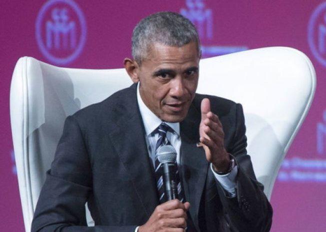 前美國總統歐巴馬。美聯社