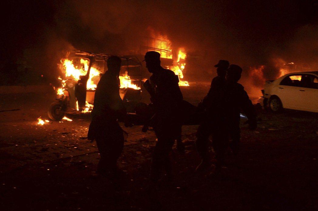 巴基斯坦西南部俾路支省(Balochistan)首府奎達市(Quetta)12日...