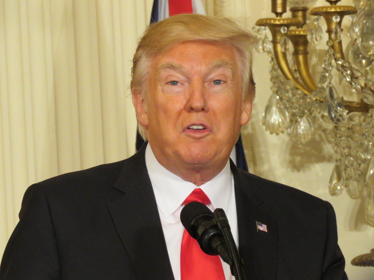 美國總統川普將在14日簽署備忘錄。聯合報系資料照