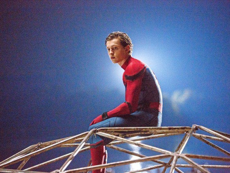 「蜘蛛人:返校日」票房大賣。圖/索尼提供 陳建嘉