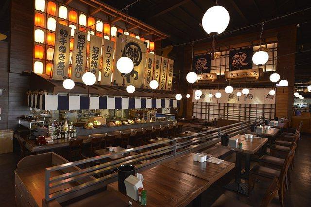 ▲大漁餐飲推出堪稱全台最大鰻魚飯專賣店「大江戶町鰻屋」