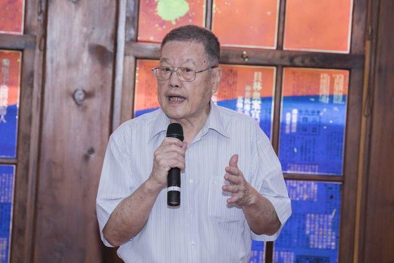 台灣二二八關懷總會理事長潘信行。 葉俊宏