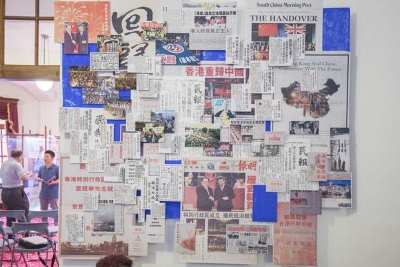 「借古喻今」的「228與香港主題特展」。 葉俊宏