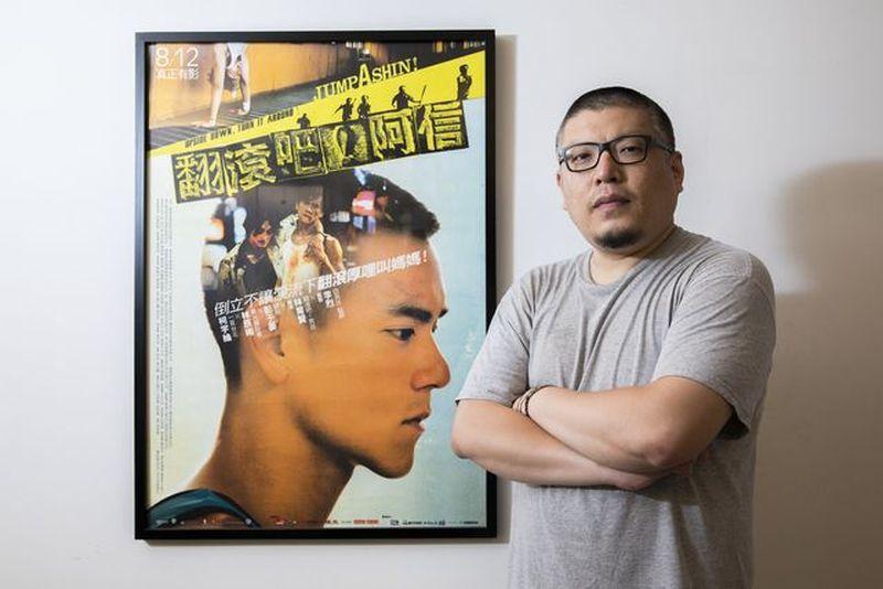 ▲王師帶領的牽猴子行銷的首部電影《翻滾吧!阿信》在2011年成功創造話題。 葉俊...