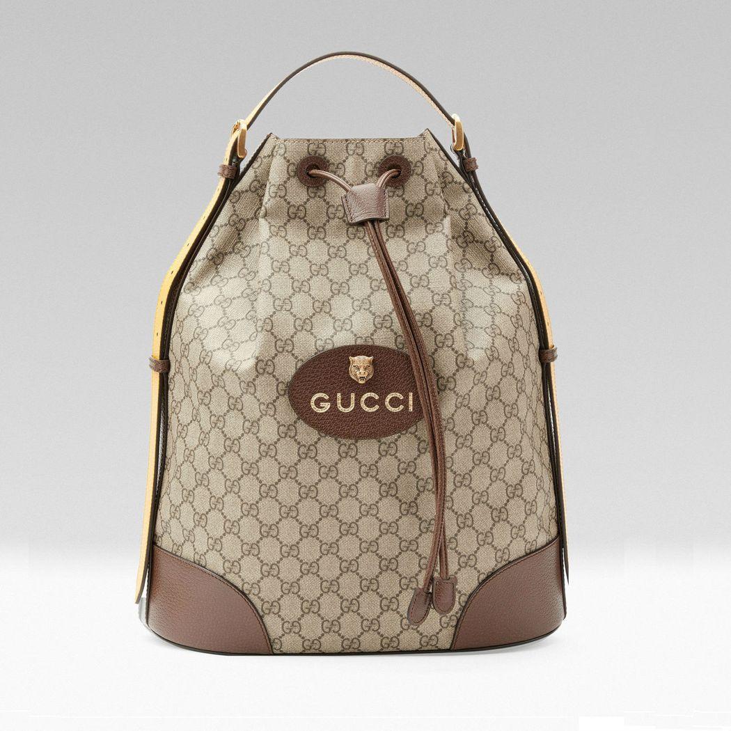 Gucci Neo Vintage手提後背包,56,500元。圖/Gucci提供