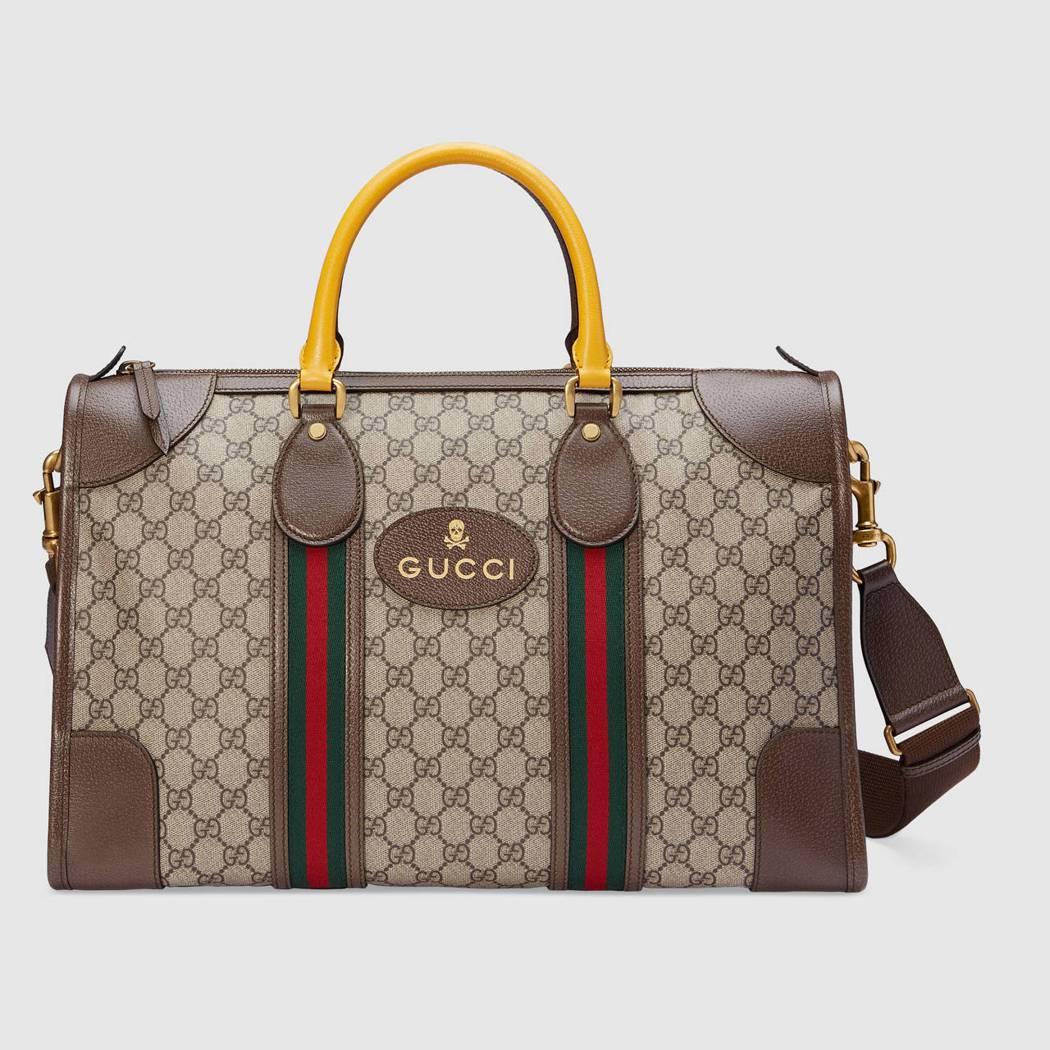 Gucci Neo Vintage手提肩背旅行袋,63,700元。圖/Gucci...