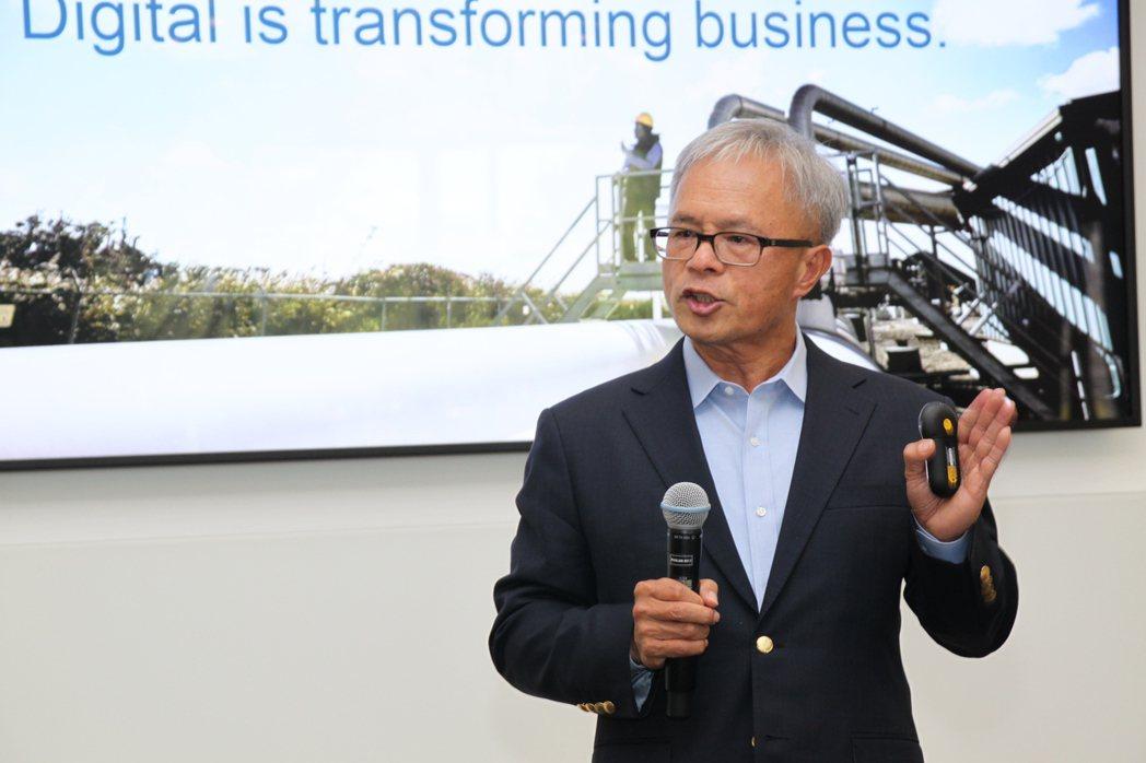 思科資訊科技副總裁張紹政說,思考的成功在於創新。記者黃寅/攝影
