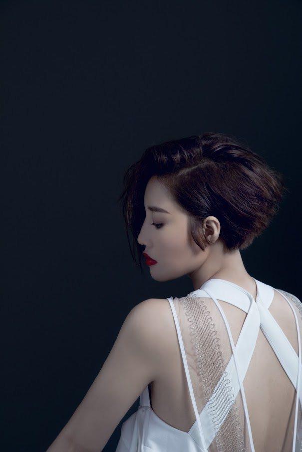 A-Lin近來將留了多年長髮剪短求變。圖/索尼提供