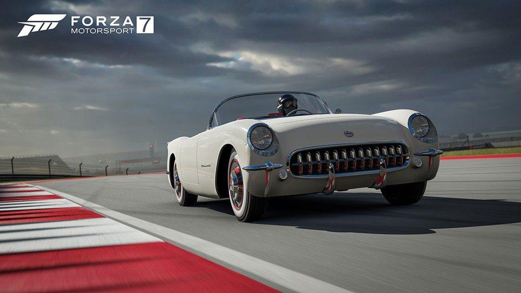 1953 Chevrolet Corvette。圖/台灣微軟提供
