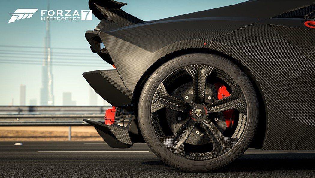 2011 Lamborghini Sesto Elemento。圖/台灣微軟提供