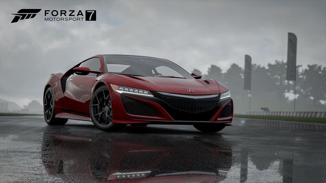 2017 Acura NSX。圖/台灣微軟提供