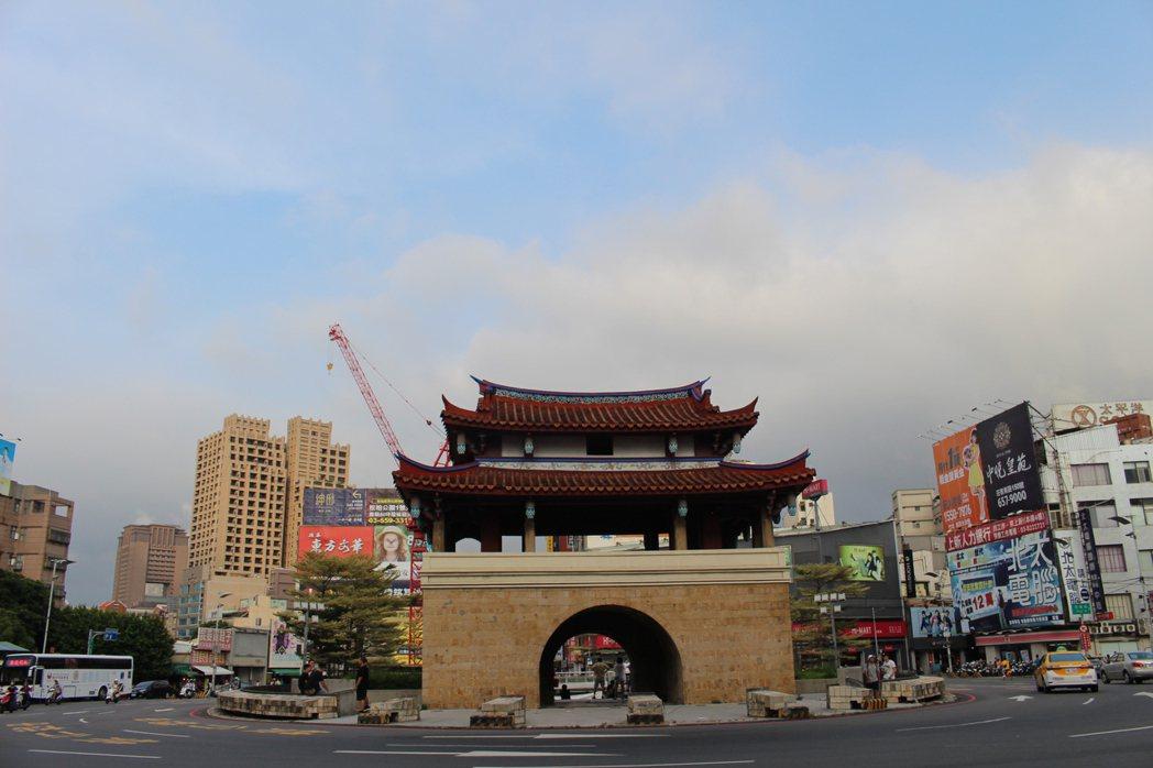 新竹東城門是新竹市最老的古蹟。 記者張雅婷/攝影