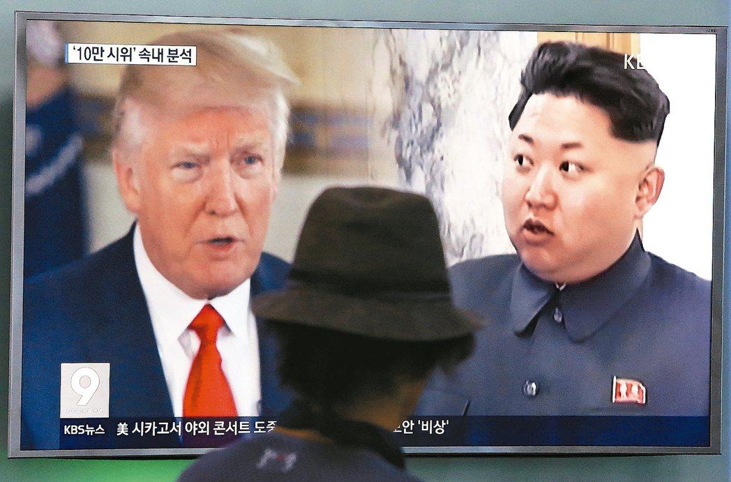 美國與北韓「口水戰」愈演愈烈,分析師預期,朝鮮半島緊張情勢未來幾天將進一步增溫。...