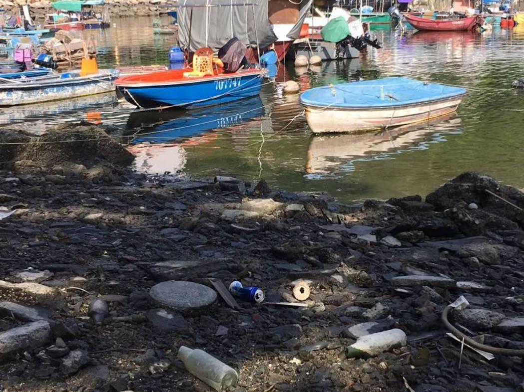 世界自然基金會項目經理楊松穎指,很多香港市民不意識隨手亂拋的垃圾有可能落入大海。...