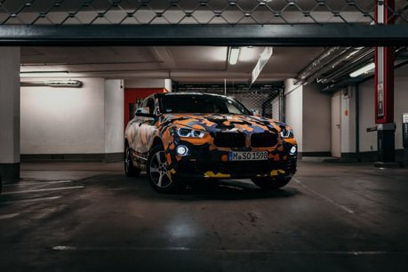 X車系新成員 BMW X2身穿迷彩裝現身啦