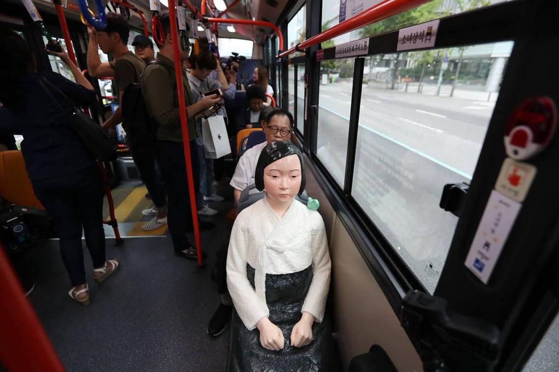 慰安婦阿嬤的悲劇,是韓國人無法輕言放下的記憶。 圖/首爾市政府