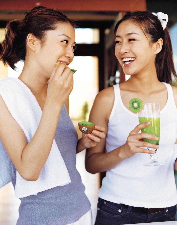 不想當體脂肪偏高的「泡芙女」,專家建議,應該多做有氧運動,多攝取高營養密度及低G...